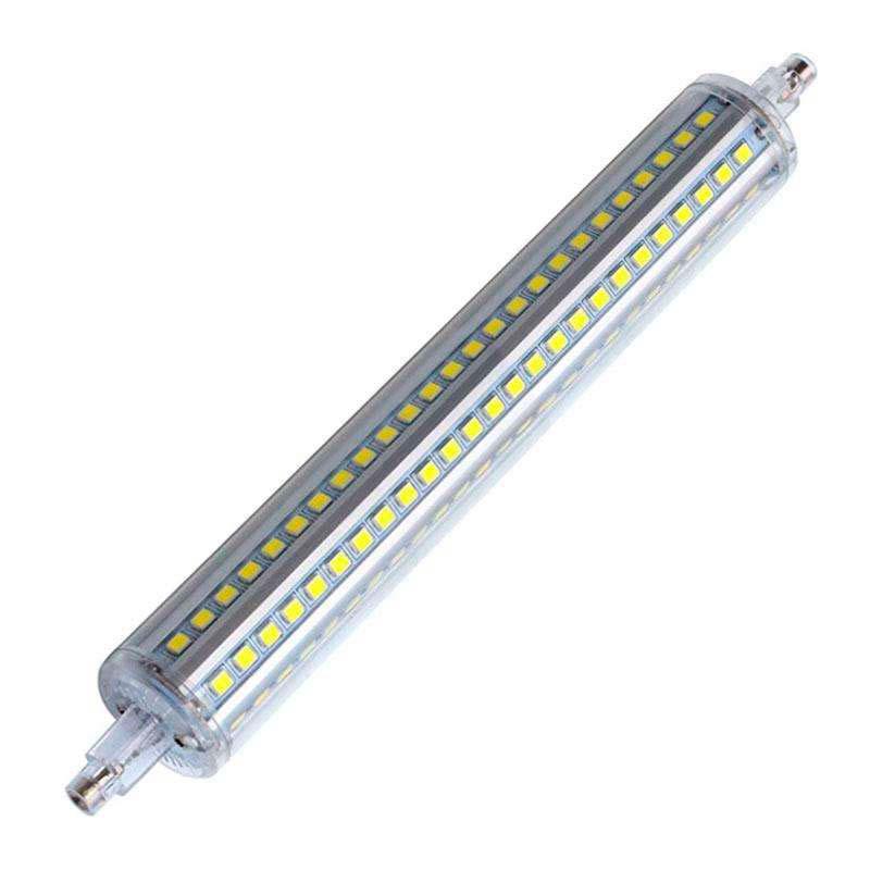 Lâmpada LED R7S, 15W, 144xSMD2835, 360º, 198mm