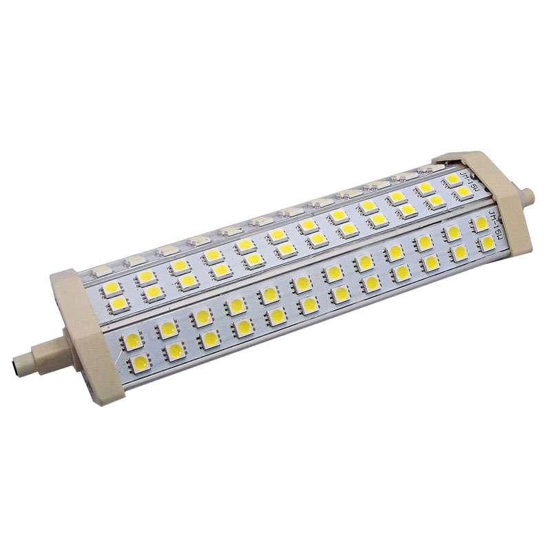 Bombilla LED R7S,  15W,  72xSMD5050,  189mm