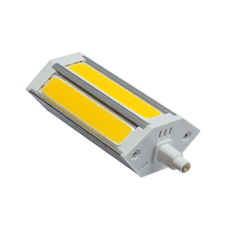 Bombilla LED R7S, 10W, COB, 136mm