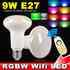 Lâmpada Led WiFi PAR30 E27 Bulb 9W RGB+Branco