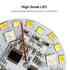 Bombilla led E27, 9W, DMX512, RGB+CCT