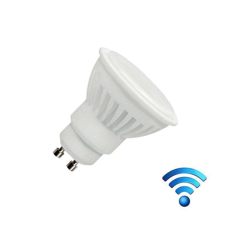 Bombilla led WiFi GU10 Bulb 4W SMALL RGB+Blanco cálido
