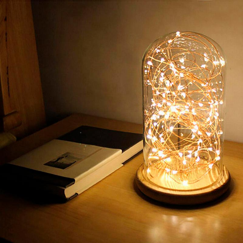 Guirnalda Led Iluminaci N De Navidad Kit Tira Led De 10m