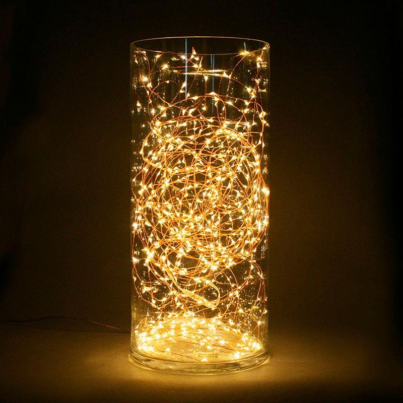 Guirnalda led iluminaci n de navidad kit tira led de 10m - Tiras led navidad ...