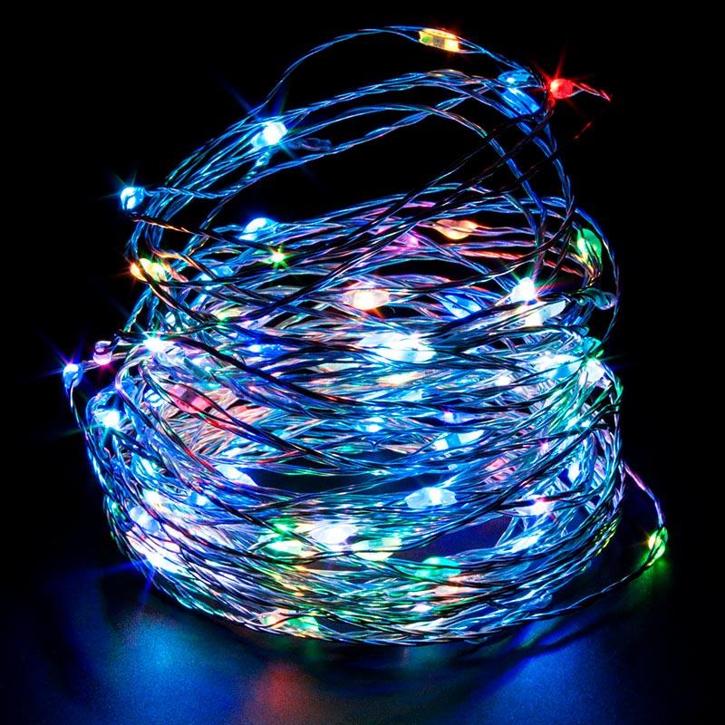 Guirnaldas led iluminaci n de navidad kit tira led 100 - Tiras led navidad ...