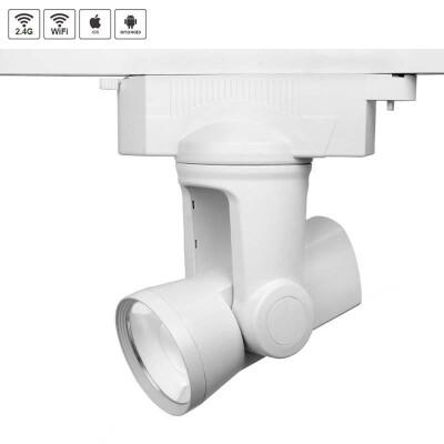Foco ALPHA LITE RGB+CW WiFi monofásico, 25W, RGB + Blanco frío, Regulable