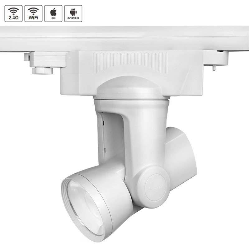 Foco LED ALPHA LITE RGB+CW WiFi Trifásico, 25W