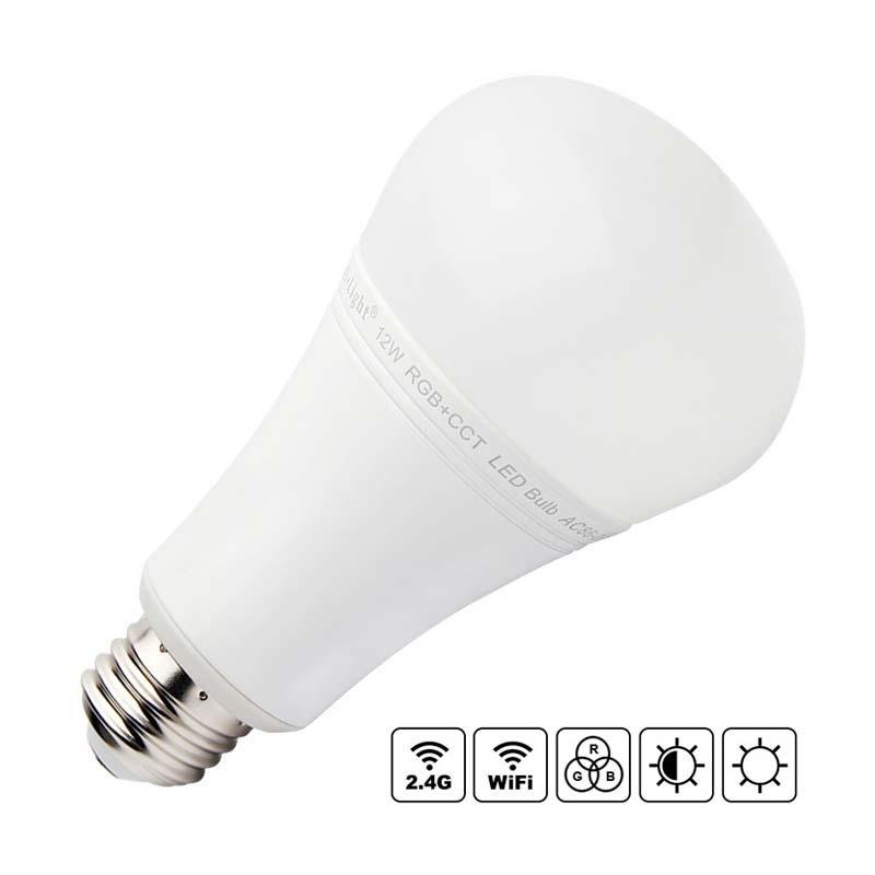 Bombilla LED WiFi E27 Bulb 12W RGB+CCT