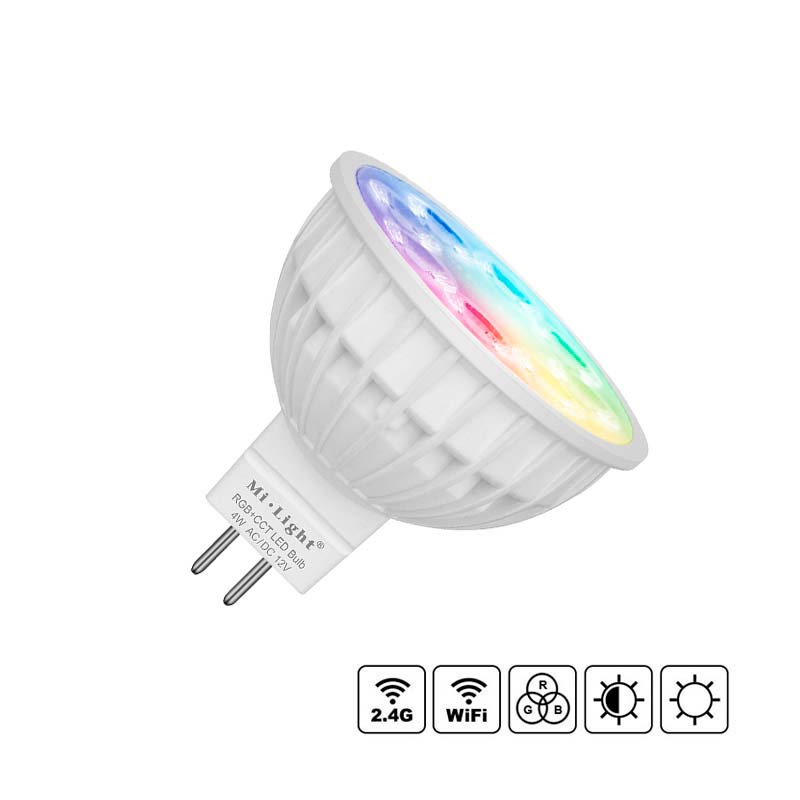 Bombilla LED WiFi MR16 Bulb 4W RGB+CCT
