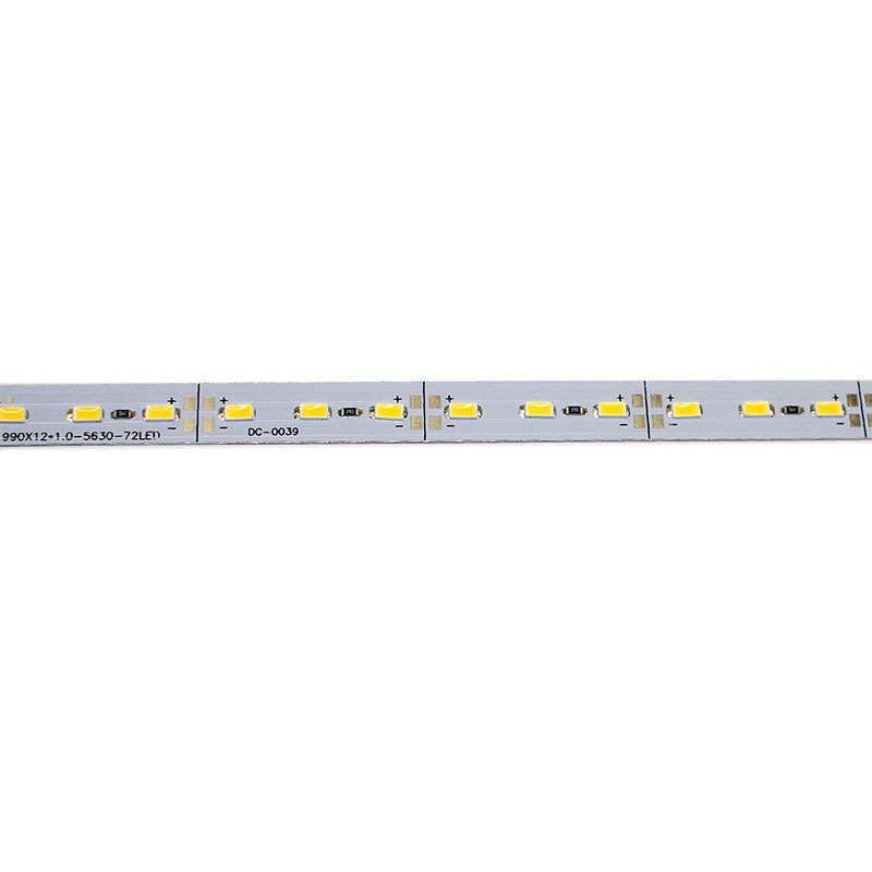 Tira LED rígida SMD5630, DC12V, 1m (72Led/m) - IP20
