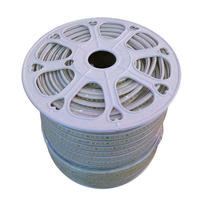 Carrete tira LED TPU SMD5050, RGB, DC24V, 50m (60Led/m) - IP68
