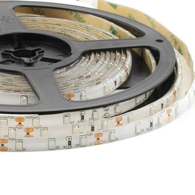 Tira LED Monocolor HQ SMD3528, DC12V, 5m (60 Led/m) - IP65, Azul