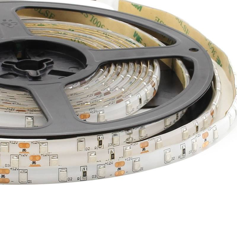 Tira LED Monocolor HQ SMD3528, DC12V, 5m (60 Led/m) - IP65