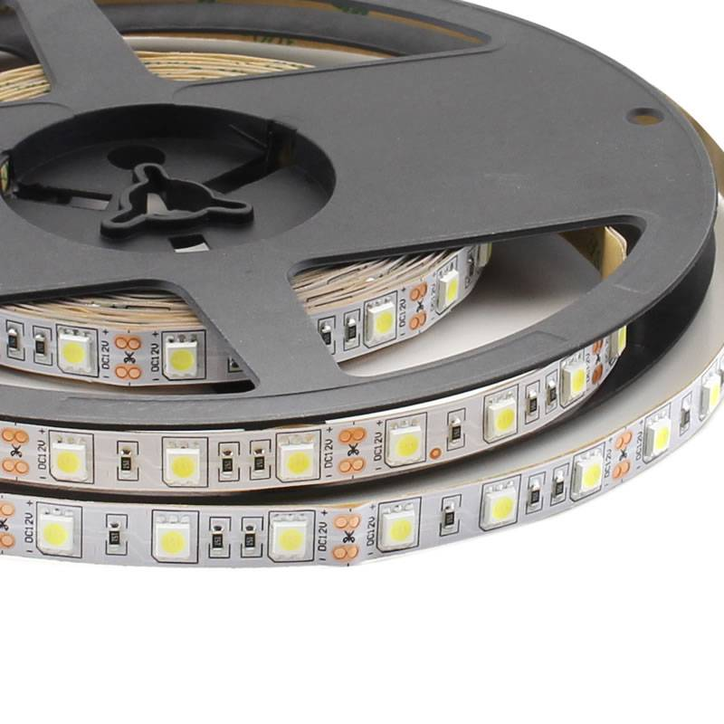 Tira LED Monocolor HQ SMD5050, DC12V, 5m (60 Led/m) - IP20