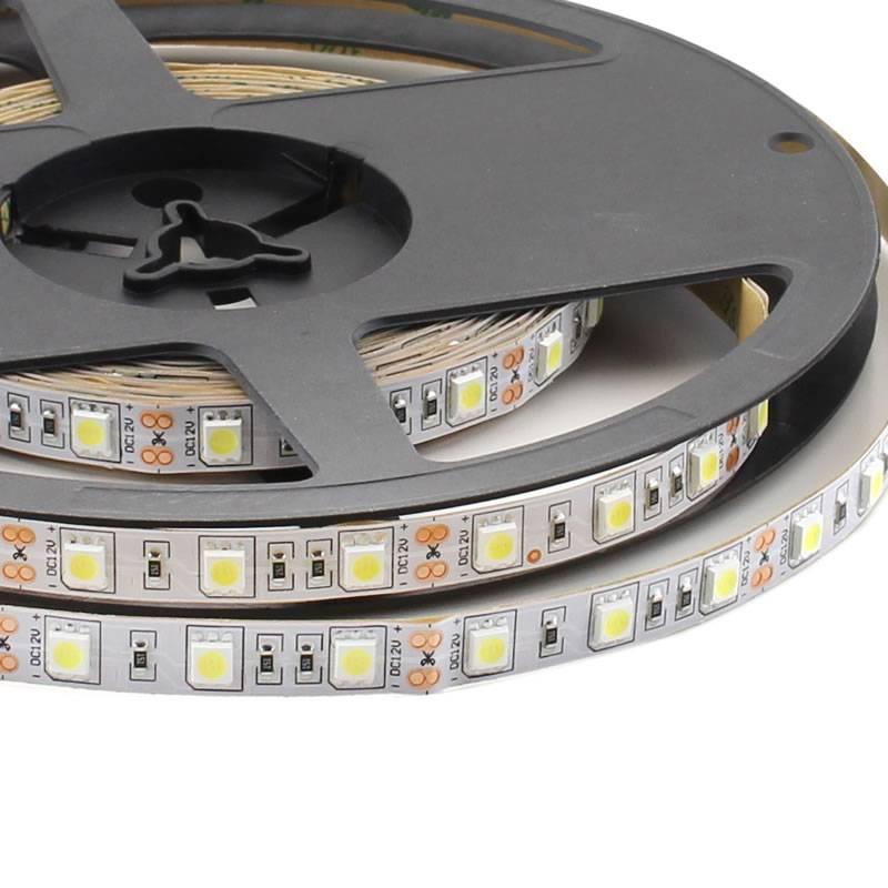 Fita LED Monocolor HQ SMD5050, DC12V, 5m (60 Led/m) - IP20