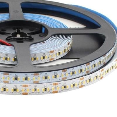 Tira LED EPISTAR Monocolor SMD3014, DC24V, 5m (240 Led/m) - IP20, Blanco frío