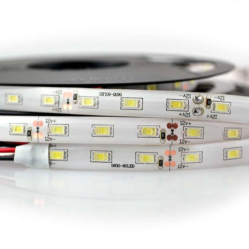 Tira LED SMD5630 HQ, ChipLed Samsung, DC12V, 1m (60Led/m) - IP20