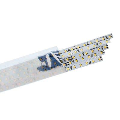Set 5 tiras LED rígidas EPISTAR SMD2835, DC24V, 1m (90Led/m) - IP20, Blanco frío