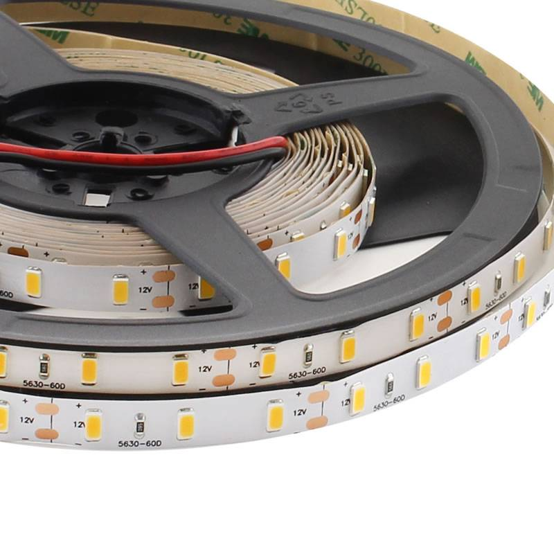 Tira LED HQ Monocolor SMD5630, ChipLed Samsung, DC12V, 5m (60Led/m) - IP68 nano waterproof