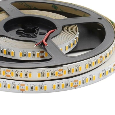 Tira LED HQ Monocolor SMD5630, ChipLed Samsung, DC24V, 5m (120Led/m) - IP20, Blanco neutro