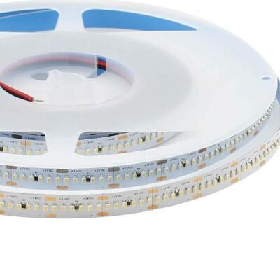 Tira LED Monocolor SMD2014, ChipLed Samsung, DC24V, 5m (300Led/m), 96W, IP20, Blanco frío