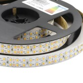 Tira LED Monocolor SMD2835, ChipLed Samsung, DC24V, 5m (240Led/m), 2 filas -IP20