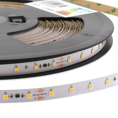 Tira LED Monocolor EPISTAR SMD2835, DC24V, 30 metros (60Led/m), CC, 144W, IP20, Blanco cálido