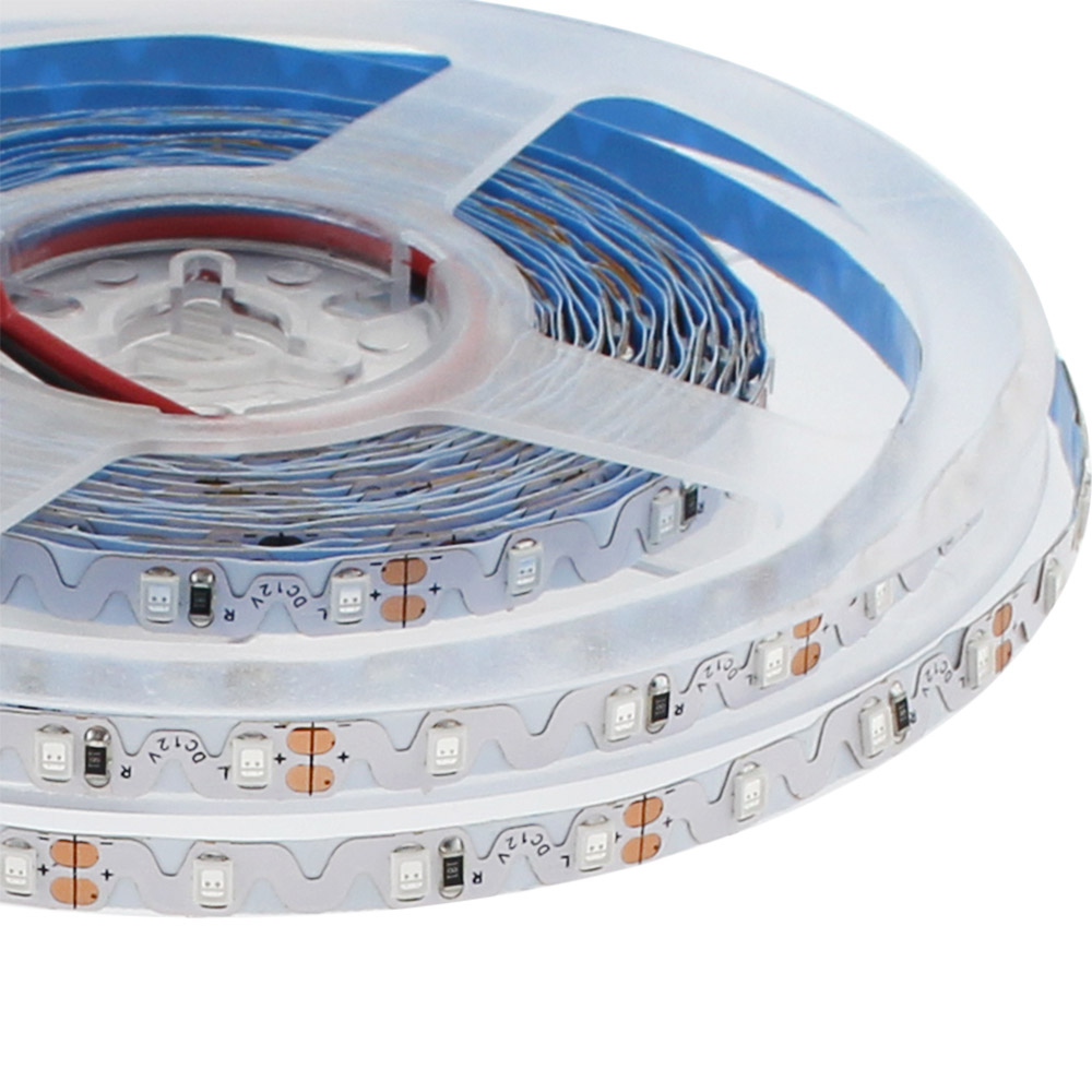 Tira contorno LED Monocolor SHARP SMD2835, DC12V, 5m, (72Led/m) - IP65