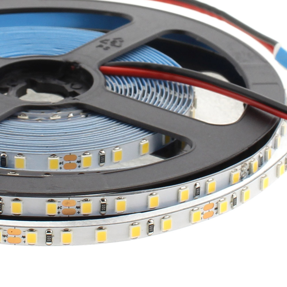 Tira LED Monocolor SMD2835, ChipLed Samsung, DC24V, 5m (120Led/m) PCB 5mm - IP20