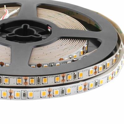Tira LED Monocolor SMD2835, DC12V, 5m (120Led/m) - IP20, Blanco neutro
