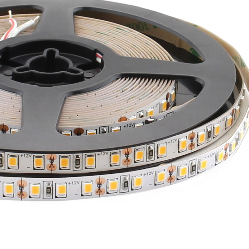 Tira LED Monocolor SMD2835, DC12V, 5m (120Led/m) - IP20