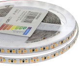 Tira LED Monocolor SMD2835, ChipLed Samsung, DC24V, 5m (168Led/m), 100W, CRI 90 - IP20