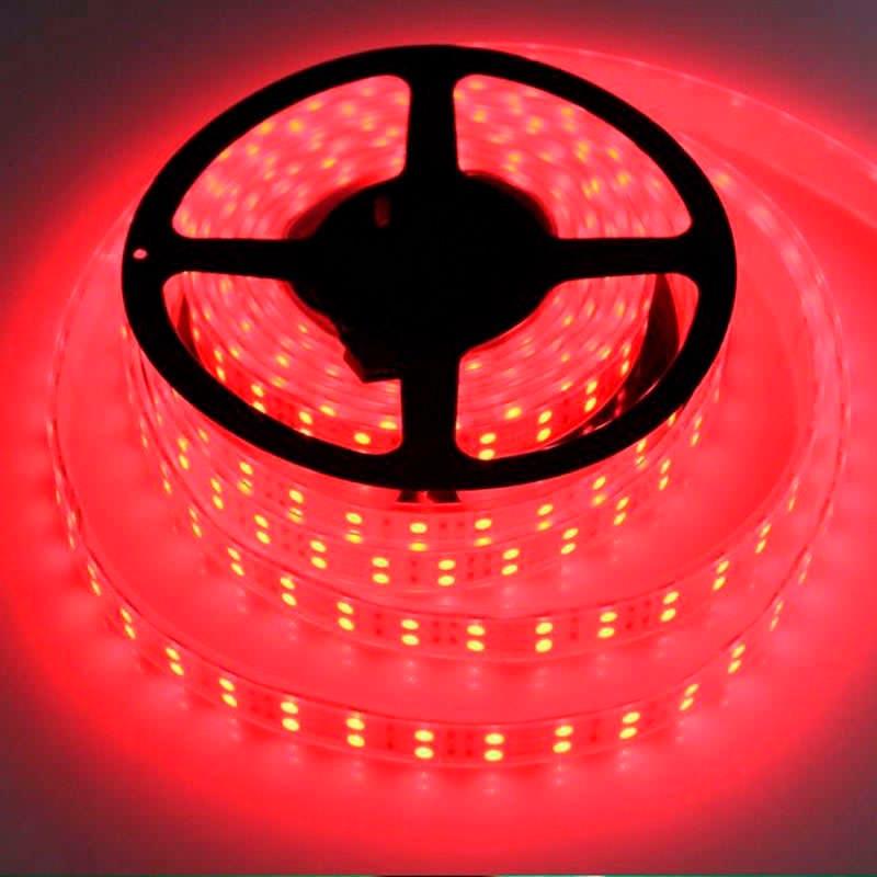 Tira LED SMD5050, RGB, DC12V, 5m (120Led/m) - IP67
