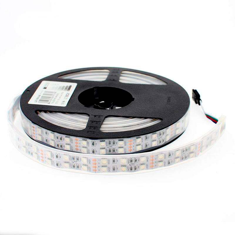 Tira LED SMD5050, RGB, DC12V, 5m (120Led/m) - IP67