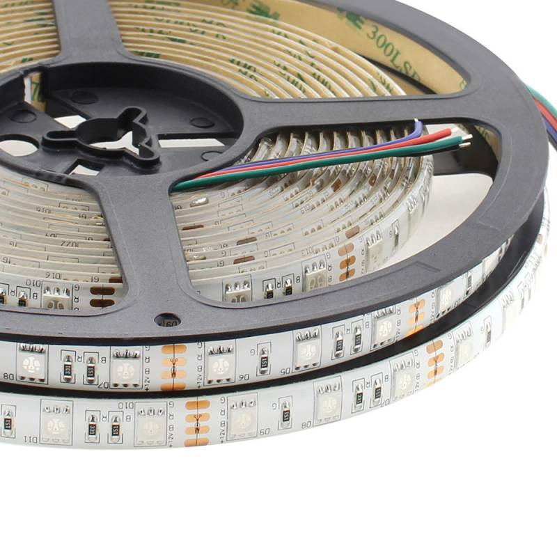 Tira LED EPISTAR SMD5050, RGB, DC12V, 5m (60Led/m) - IP65