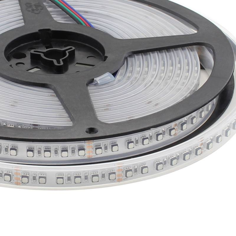 Tira LED SMD3535, ChipLed Samsung, RGB, DC24V, 5m (120Led/m) - IP67