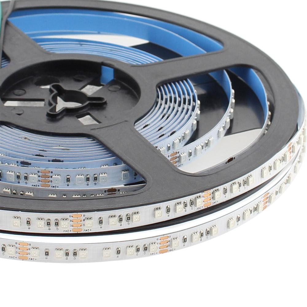 Tira LED SMD2835, ChipLed Samsung, RGB, DC24V, 5m (120Led/m) - IP65