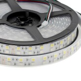 Tira LED EPISTAR SMD5050, RGB+NW, DC24V, 5m (120Led/m) - IP67