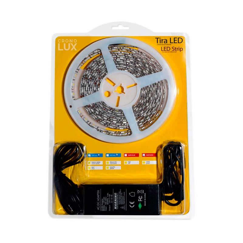 KIT tira LED flexible SMD3528, 5m (60 Led/m) - IP65