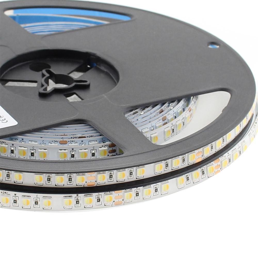 Fita LED Branco Dual SMD3838, DC24V, 5m (240 Led/m) - IP65