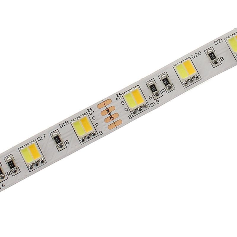 Tira LED Blanco Dual SMD5050, DC24V, 5m (120 Led/m) - IP65