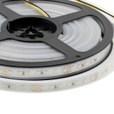 Fita LED Branco Dual SMD3014, DC24V, 5m (224 Led/m) - IP67