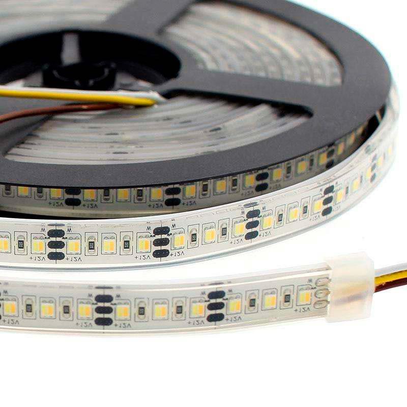 Fita LED Branco Dual SMD3528, DC12V, 5m (240 Led/m) - IP68