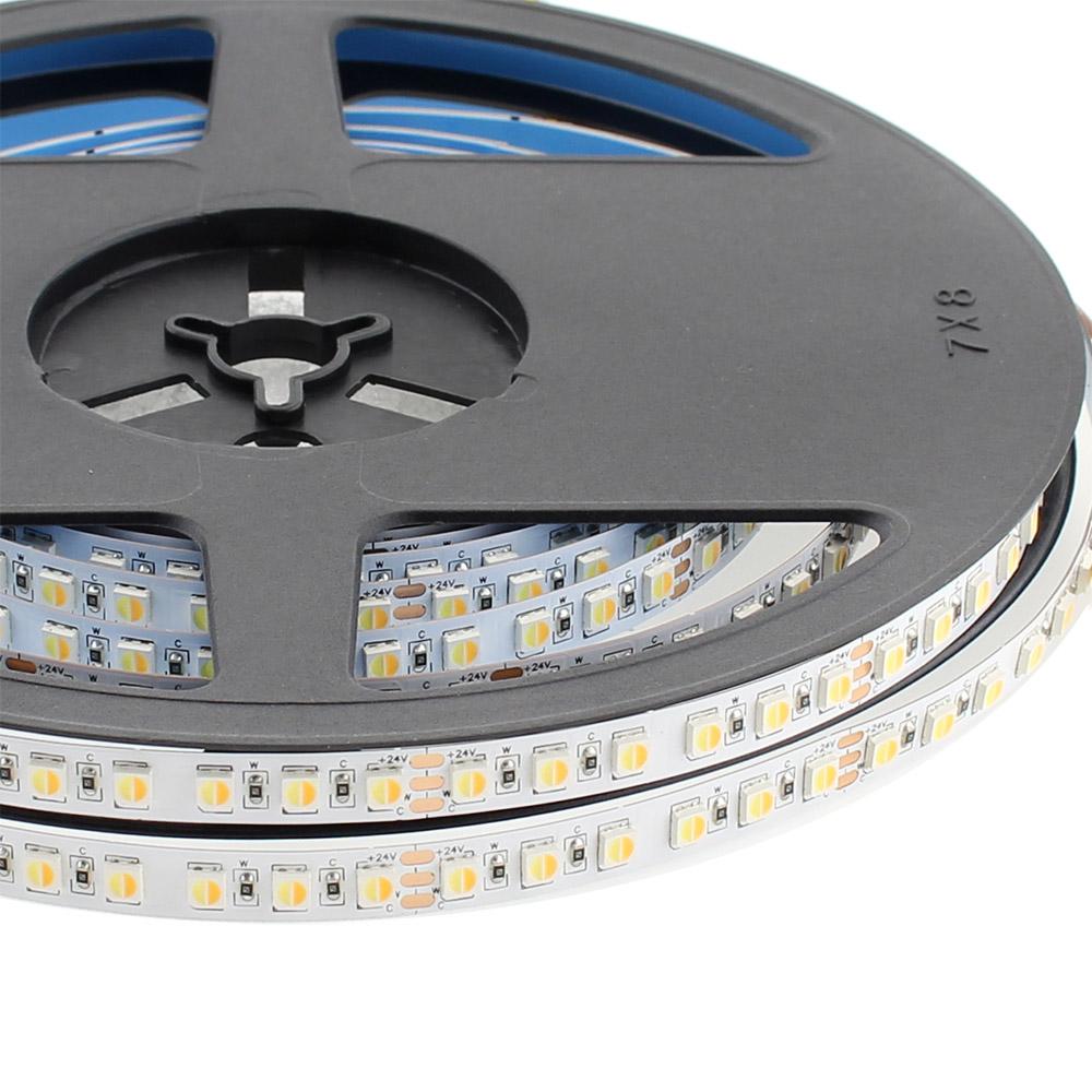 Fita LED Branco Dual SMD3838, DC24V, 5m (240 Led/m) - IP20