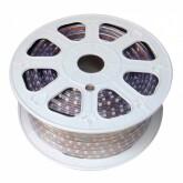 Tira LED 220V SMD 5050, 120Led/m, RGB, 2 filas, carrete 50 metros, 18.5mm