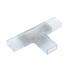 Unión intermedia T tira led 220V SMD5050 RGB - 14mm