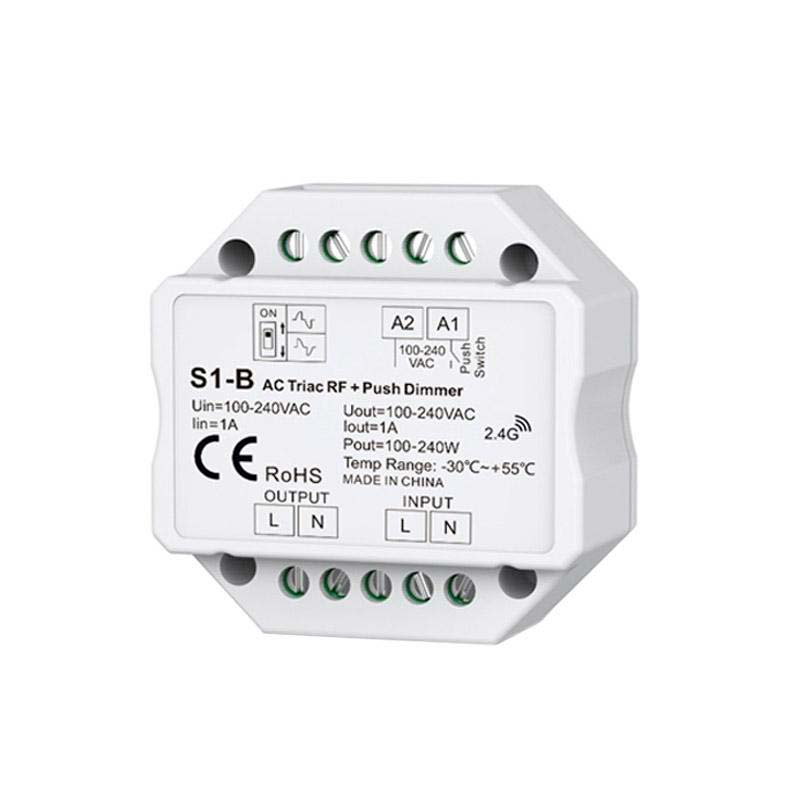 Regulador TRIAC Dimmer 220V, RF-multifunción