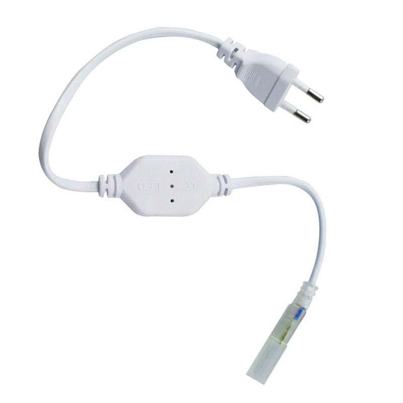 Alimentador para tira led 220V SMD2835 con conectores rápidos