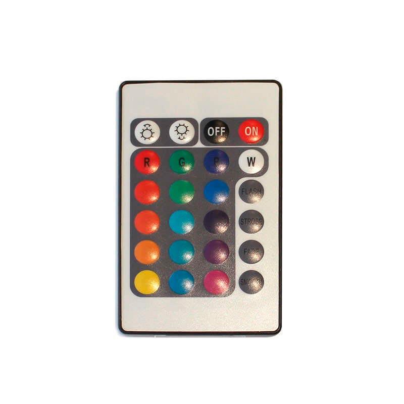Controlador IR tira led 220V RGB 1200W
