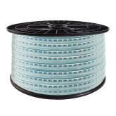 Tira LED 220V SMD2835, 120Led/m, PCB color, carrete 50 metros con conectores rápidos